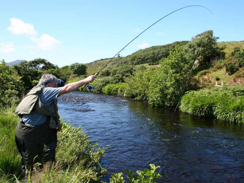 fly fishing with Mike Smith